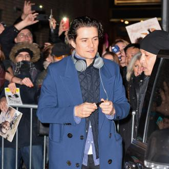 Orlando Bloom Parties With Co-star