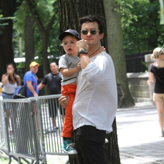 Orlando Bloom wants to inspire son
