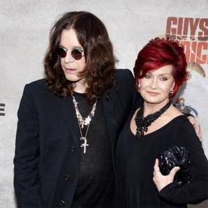 Sharon And Ozzy Osbourne In Extension Row