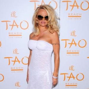 Pamela Anderson Adopts Dogs