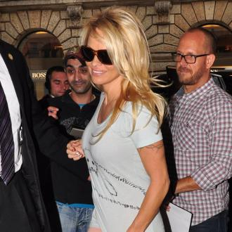 Pamela Anderson Enjoys Holiday With Ex-husband