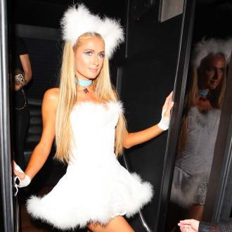 Paris Hilton Dresses Up As Her Dog For Halloween