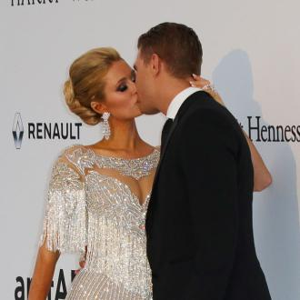 Paris Hilton and Chris Zylka's TV binge