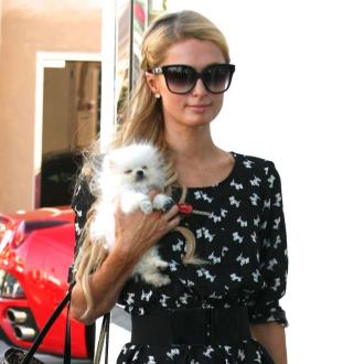 Paris Hilton Introduces Prince To Tinkerbell