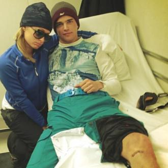 Paris Hilton Spends Birthday In Hospital