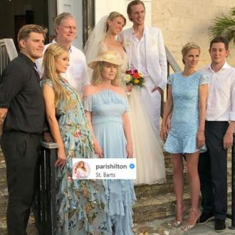 Barron Hilton gets married