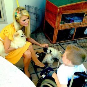 Paris Hilton Meets Sick Fan