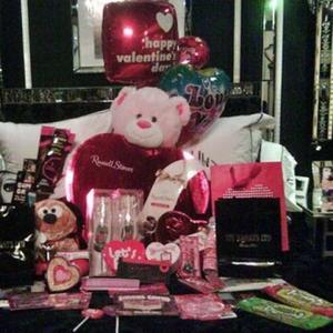 Paris Hilton's Diamond Valentine's Gift