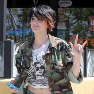 Paris Jackson visiting home