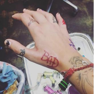 Paris Jackson's New Tattoo For Michael
