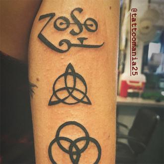 Paris Jackson unveils new Led Zeppelin tattoos