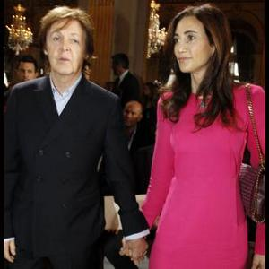 Paul Mccartney And Nancy Shevell Give Stella Support