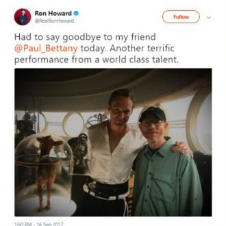 Paul Bettany wraps Han Solo filming