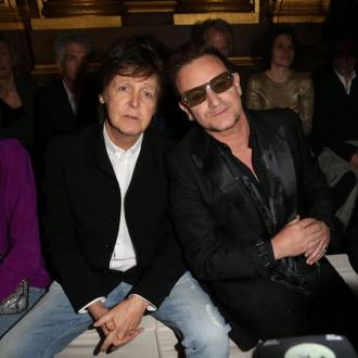 Paul Mccartney Watches Stella's Show