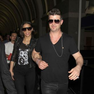 Robin Thicke And Paula Patton Attend Therapy Session