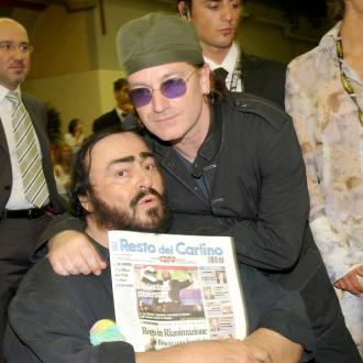 Pavarotti's rare duets with Bono, Sting and more released