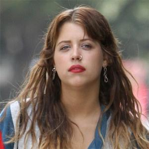 Peaches Geldof Pierces Nose