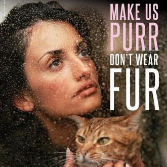 Penelope Cruz Joins Up With Peta To Spread Anti-fur Message