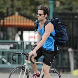 Penn Badgley 'Couldn't Be Happier' For Blake