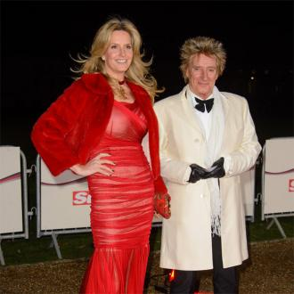 Rod Stewart And Penny Lancaster Renew Vows