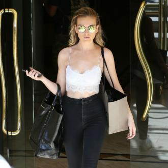 Perrie Edwards' tears 'caused by property drama'