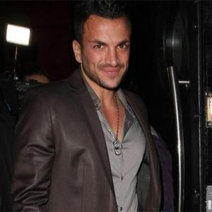 Peter Andre Preparing For Store Opening