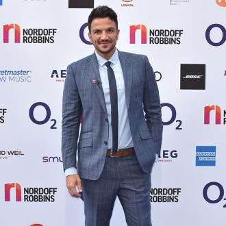 Peter Andre performing at Mecca Fest