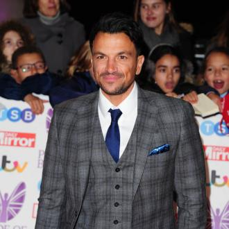 Peter Andre praises Sarah Harding for cancer bravery