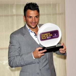 Peter Andre Wins Dad Of The Year