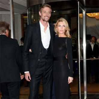 Abbey Clancy gets annual coat gift