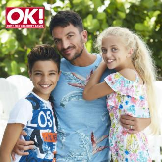 Peter Andre trying to 'protect' his kids