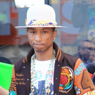 Pharrell WIlliams' children cry in harmonies