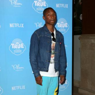 Pharrell Williams Exfoliates Like A 'Narcissistic Madman'