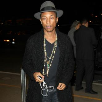 Pharrell Williams At Intimate London Gig