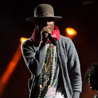 Pharrell Williams thanks British fans for helping with his career success