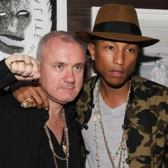 Pharrell Williams Attends Dinner In Honour Of Tracey Emin