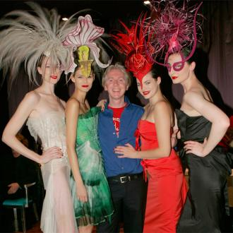Philip Treacy: Hats off to simple outfits