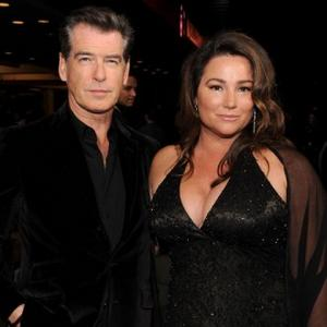 Pierce Brosnan's Wife Sues Over Walnut Shell Shock