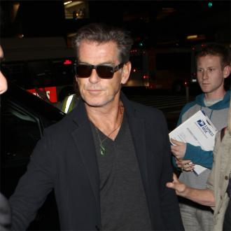 Pierce Brosnan ate rat