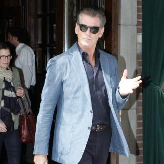 Pierce Brosnan's home catches fire