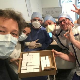 Victoria Beckham's chocolatier giving away treats to coronavirus victims
