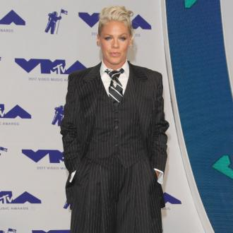 Pink wants to write a 'signature song' for her father.