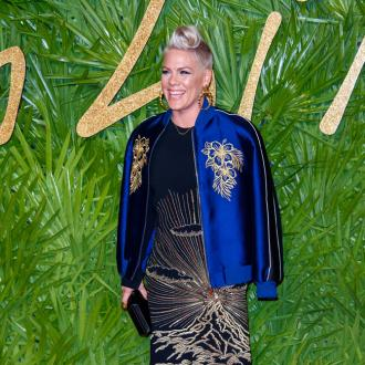 Pink 'thanks her stars' for her father