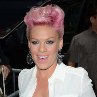 Pink Is 'Sore' After Rehearsals