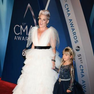 Pink urges moms to give themselves a break