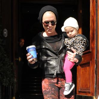 Pink's Daughter Has 'Separation Anxiety'