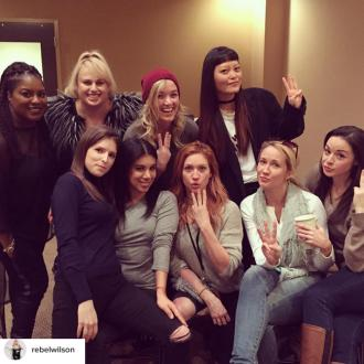 Rebel Wilson is filming Pitch Perfect 3