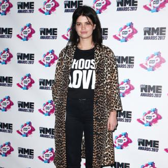 Pixie Geldof took a tumble in front of the Queen