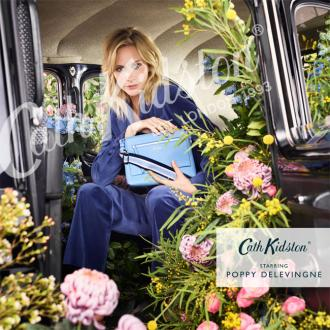 Poppy  Delevingne to front Cath Kidston spring campaign