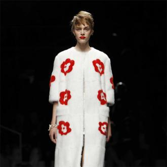 Prada Stuns At Milan Fashion Week With Floral Collection